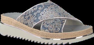 Blauwe Gabor Slippers 722.2