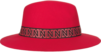 Rode Nikkie Hoed N Logo  Hat