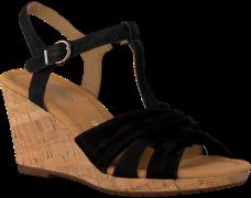 Zwarte Gabor Sandalen 828