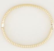 Gouden My Jewellery Armband Bangle Geribbeld Breed