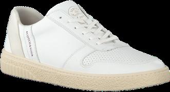 Witte Scotch & Soda Lage Sneakers Brilliant